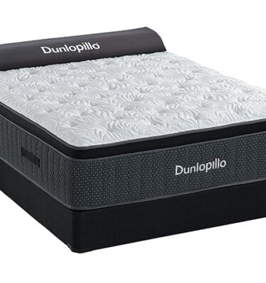 Sherwood Bedding - Dunlopillo - Barcelona Luxury Firm Euro Top - Hybrid Mattress
