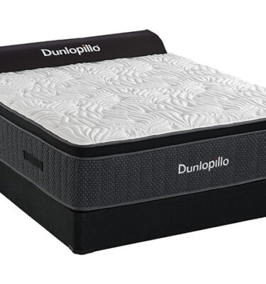 Sherwood Bedding - Dunlopillo - Portofino Luxury Plush Euro Top - Hybrid Mattress