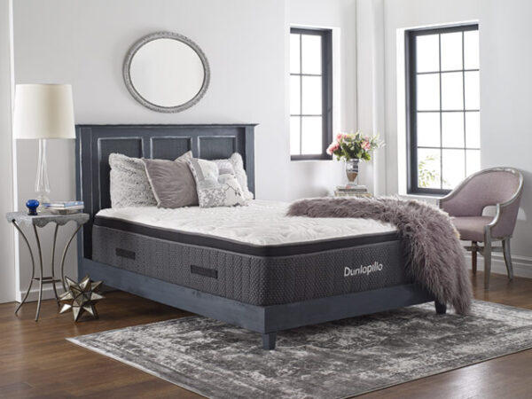 Sherwood Bedding - Dunlopillo - Portofino Cushion Firm Euro Top - Hybrid Mattress