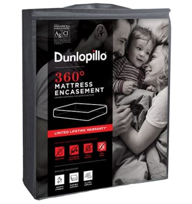 Sherwood Full Enhancement Dunlopillo Mattress Protector
