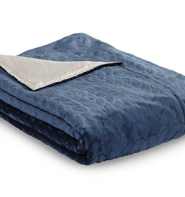 Sherwood Zensory Adult Duvet Cover Dark Blue