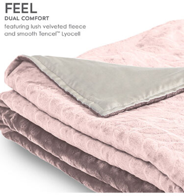 Sherwood Zensory Adult Duvet Cover Light Pink